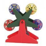 Trixie 5355 Игрушка,для попугаев и канареек Карусель с шариками, 10 см
