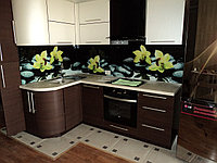Фартук кухонный из каленного 6 мм стекла с фотопечатью