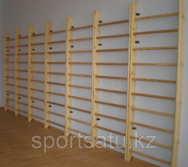 Шведская стенка деревянная эконом - фото 2