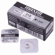 Батарея Maxell 319  SR527SW      1,55v