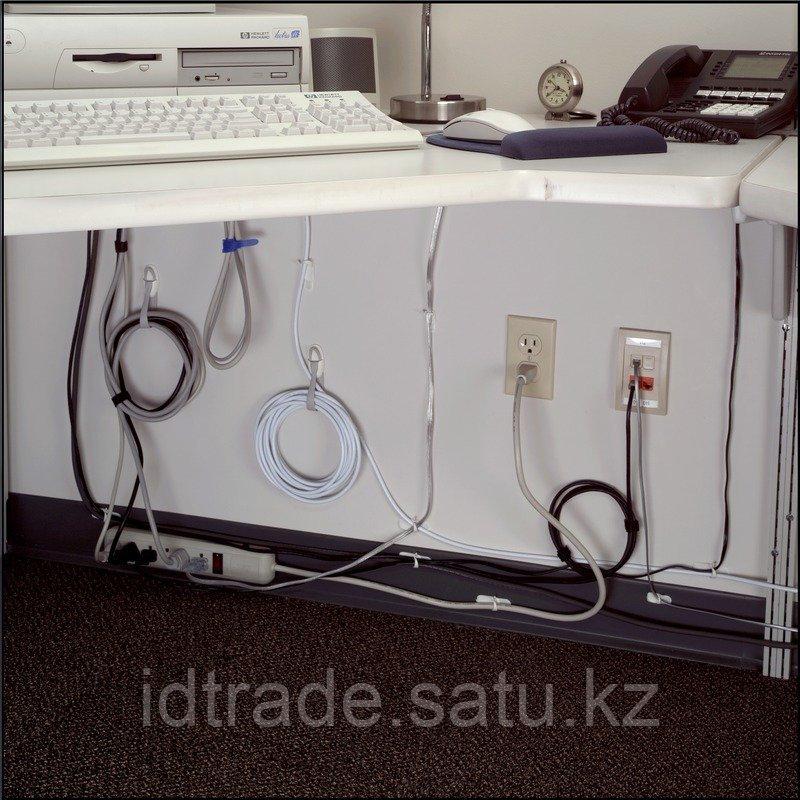 Легкоудаляемый держатель для проводов с системой крепления Command , средний - фото 4
