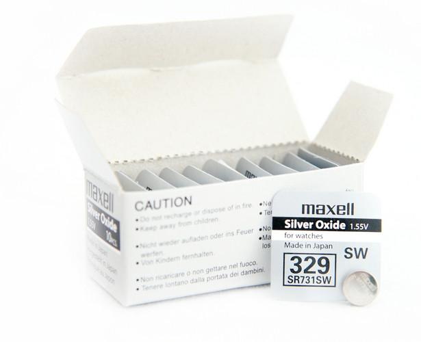 Батарея Maxell 329 1.55v  SR731SW