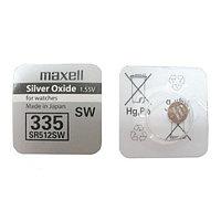 Батарея Maxell 335 1.55v  SR512SW