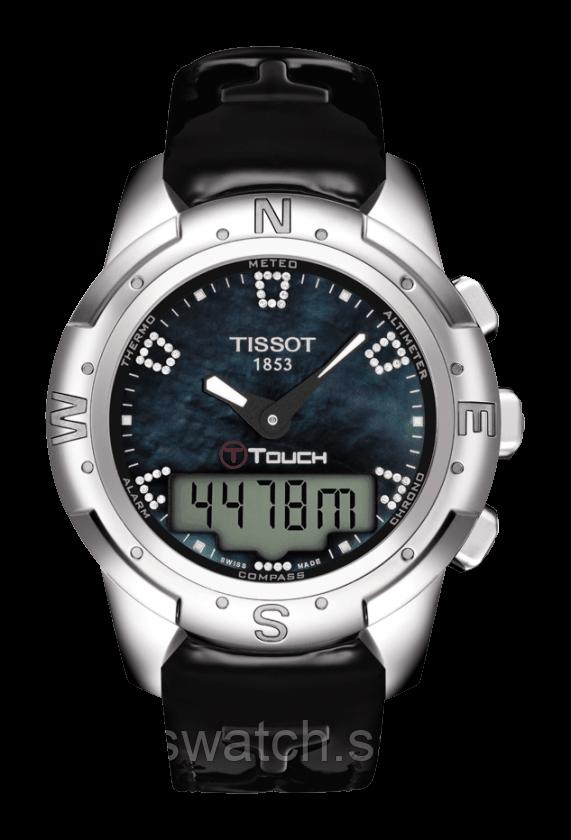 Наручные часы TISSOT T-TOUCH II TITANIUM LADY T047.220.46.126.00