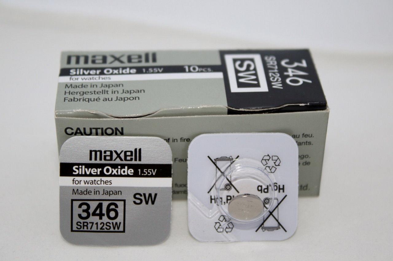 Батарея Maxell 346 1.55v  SR712SW