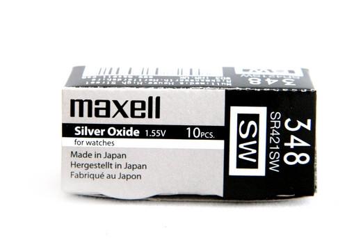 Батарея Maxell 348 1,55v CS421SW