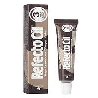 Краска Refectocil для бровей и ресниц № 3 (тёмно-коричневый)