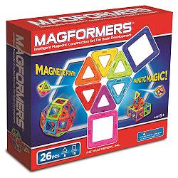 Magformers Магнитный конструктор Базовый Набор из 26 элементов
