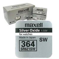 Батарея Maxell 364 1.55v  SR621SW