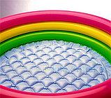 Надувной бассейн Intex 3 кольца с надувным дном (86х25 см.), фото 2