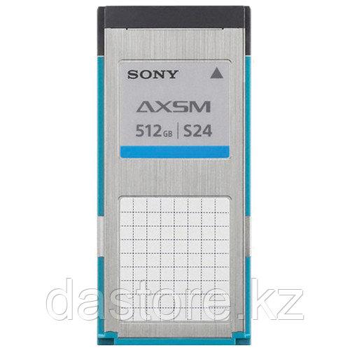 Sony AXS-A512S24 Карта памяти AXS серии A емкостью 512 ГБ с гарантированной скоростью записи 2,4 Гбит/с