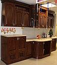 СЕЛЕНА кухонный гарнитур, крем/орех, фото 3