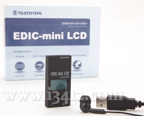 Диктофон Edic-mini B8-LCD ― комплект поставки