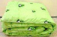 """Одеяло """"Бамбук"""" зимнее, 1,5-спальное, тик/полиэстер. Россия"""