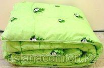 "Одеяло ""Бамбук"", зимнее. Евро-размер 200х220 см. тик/полиэстер. Россия"