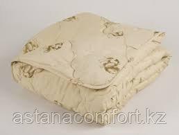 "Одеяло зимнее ""Верблюд"", евро-размер 220*200 см. Микрофибра. Россия."