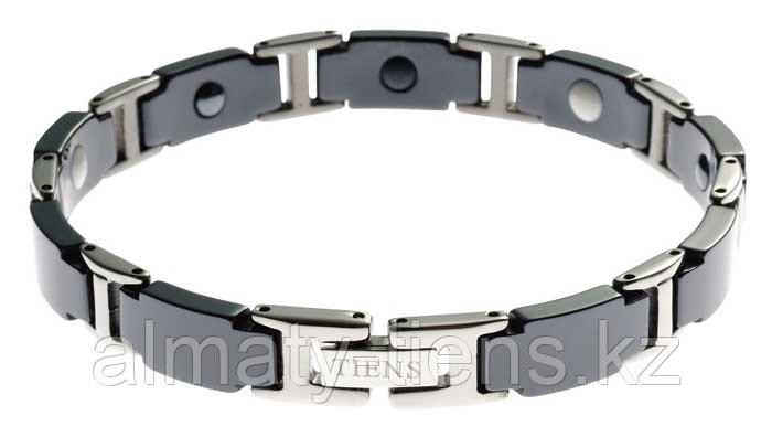 """Титановый магнитный браслет """"Тяньши"""" Black"""