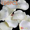 Шелковые лепестки роз 100 шт. (белые)