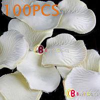 Шелковые лепестки роз 100 шт. (белые), фото 1