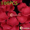 Шелковые лепестки роз 100 шт. (красные)