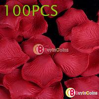 Шелковые лепестки роз 100 шт. (красные), фото 1