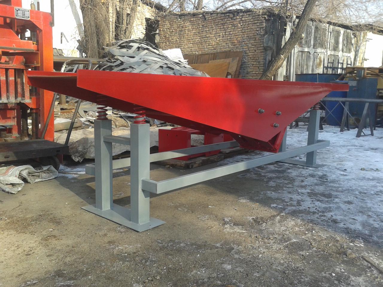 Вибростол бетон подача бетонной смеси с помощью автобетононасоса