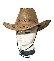 Ковбойская шляпа (стетсон), коричневая, 56-58 размеры