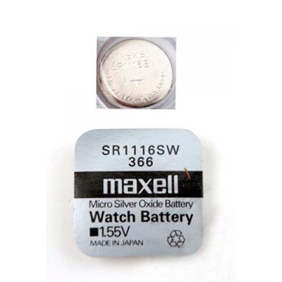 Батарея Maxell 366 1.55v  SR1116SW