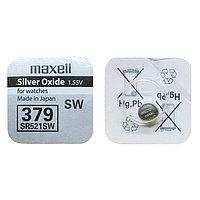 Батарея Maxell 379 1.55v  SR521SW