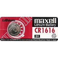 Батарейкa MAXELL CR1616, 3 v