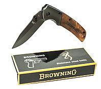 Нож складной Browning 354, 10-21 см, фото 1