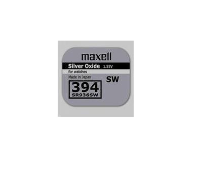 Батарея Maxell 394  SR936SW  1,55v