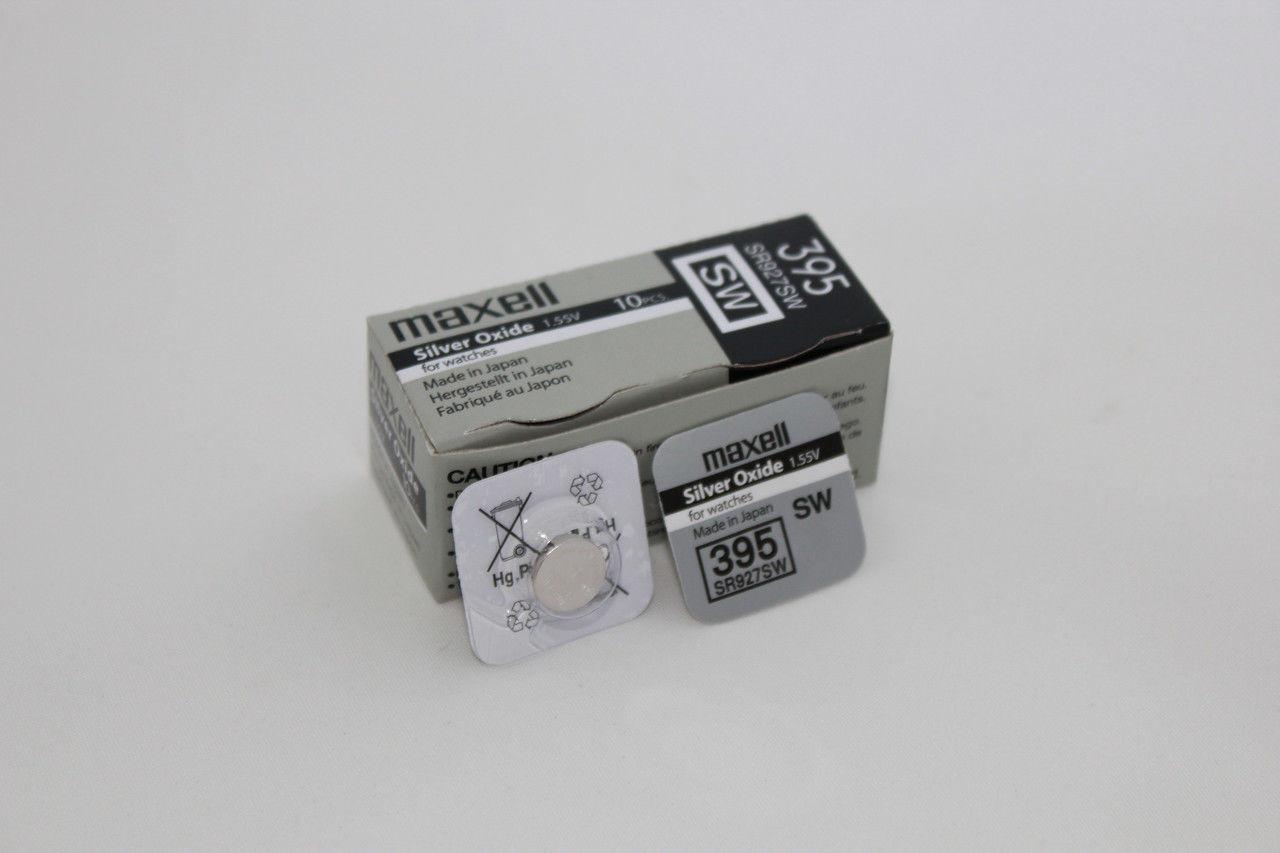 Батарея Maxell 395  SR927SW  1,55v