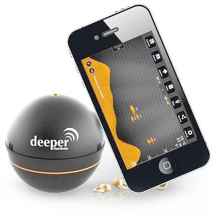 """Для работы эхолота """"Deeper Fishinder"""" достаточно смартфона"""