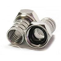 Разъем F - RG6 (с резиновым уплотнительным кольцом), фото 1