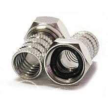 Разъем F - RG6 (с резиновым уплотнительным кольцом)