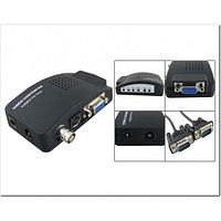Конвертер  VGA,S-video,BNC video вход-выход VGA,/ video to VGA/