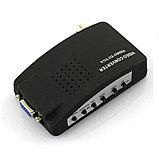 Конвертер  VGA,S-video,BNC video вход-выход VGA,/ video to VGA/, фото 2