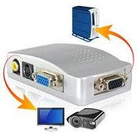 Конвертер  VGAвход-выход VGA,S-video,RCA video/VGA to video/