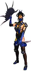 Mortal Kombat X - Китана (с оружием)