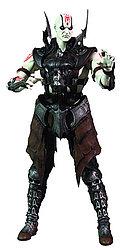 Mortal Kombat X - Куан Чи (с оружием)