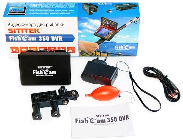 Видеокамера для рыбалки SITITEK FishCam-350 укомплектована всем необходимым