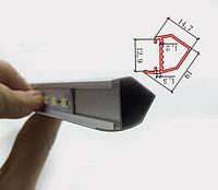 Светодиодная полоса 5630 с V алюминиевым профилем 50 см, фото 1