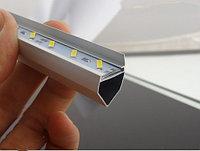 Светодиодная полоса 7020 с V алюминиевым профилем 50 см, фото 1