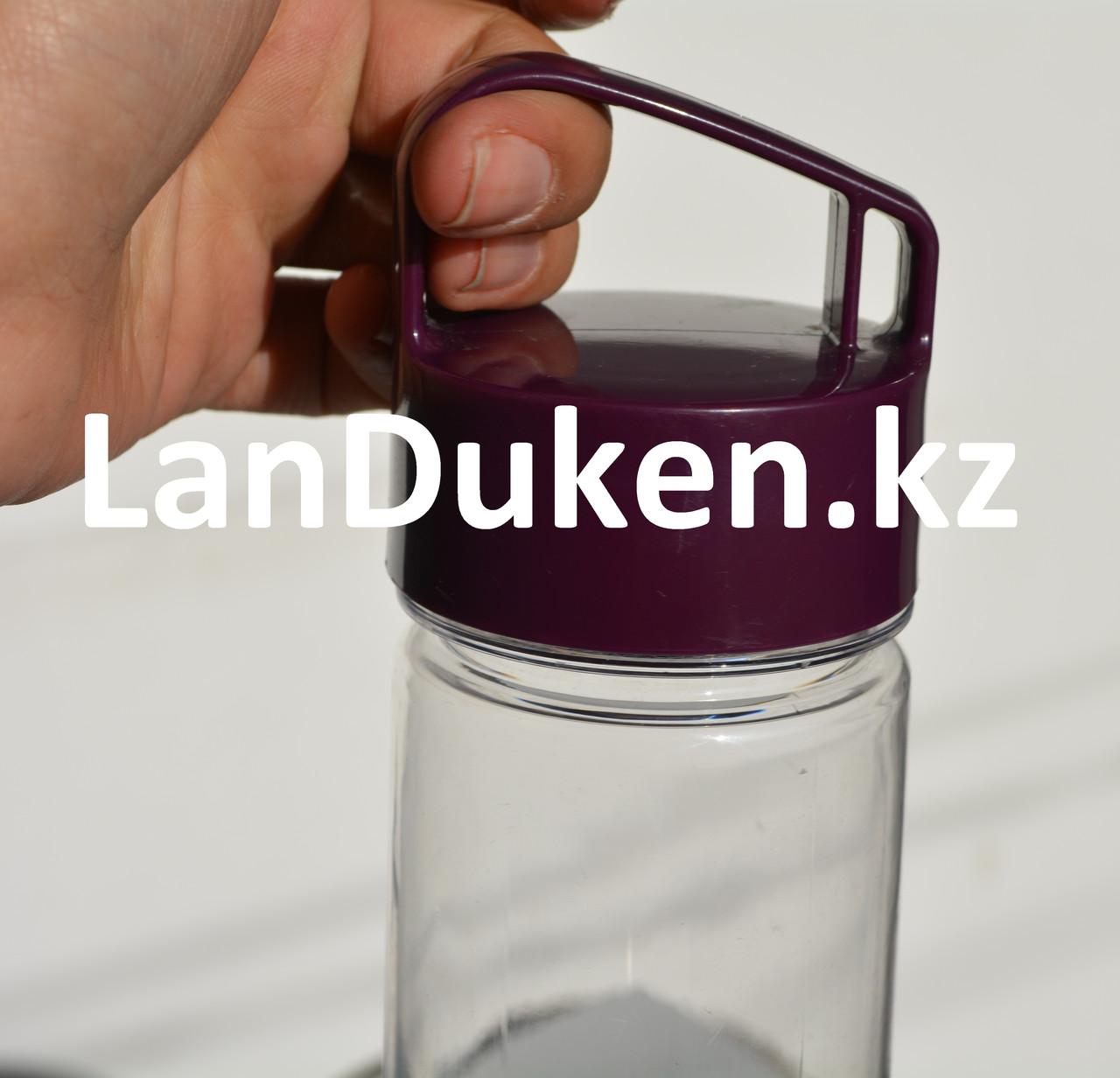 Бутылочка для воды, чая RUNRI 550 мл, емкость для воды (с заварником) - фото 4