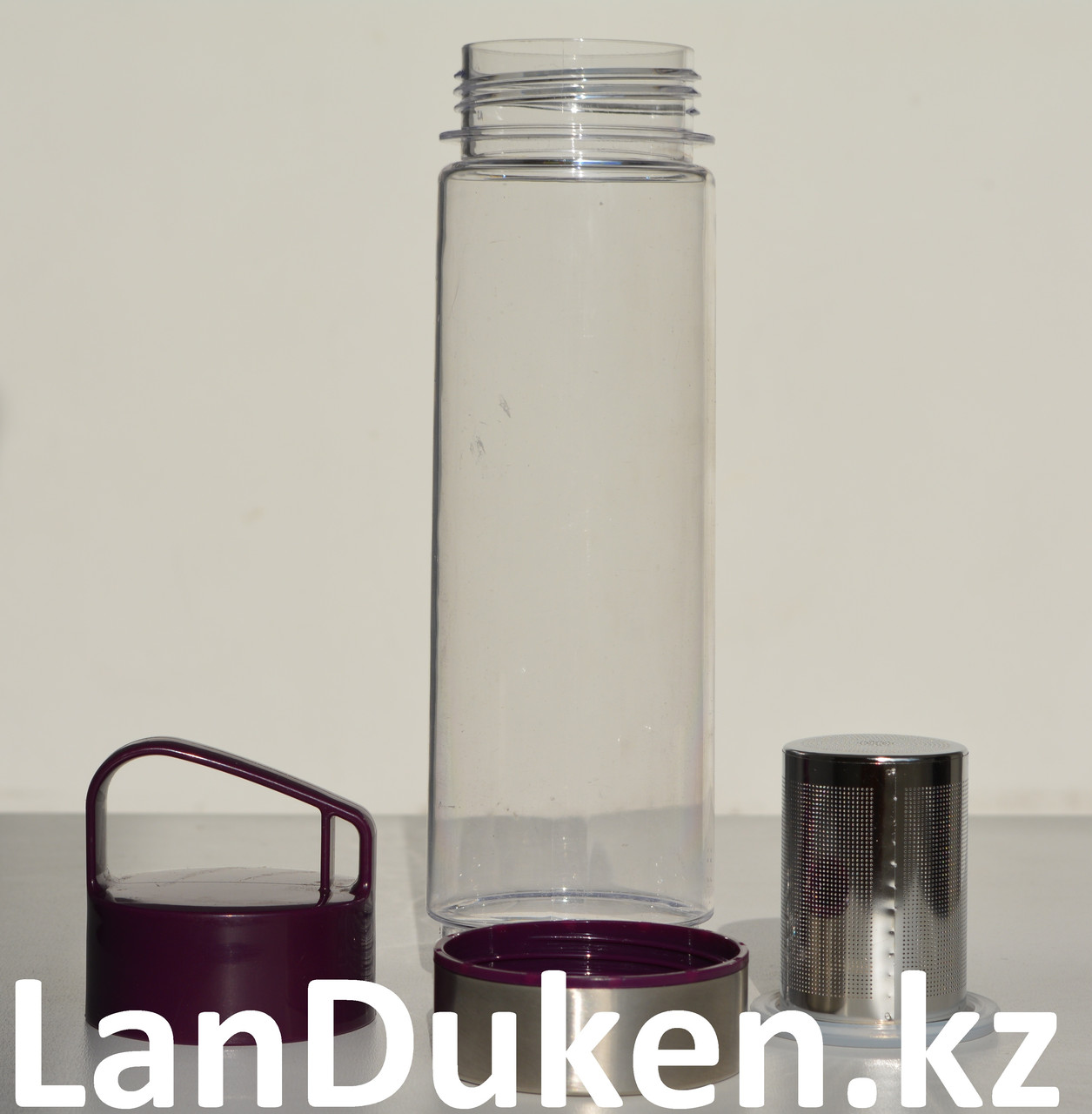 Бутылочка для воды, чая RUNRI 550 мл, емкость для воды (с заварником) - фото 3