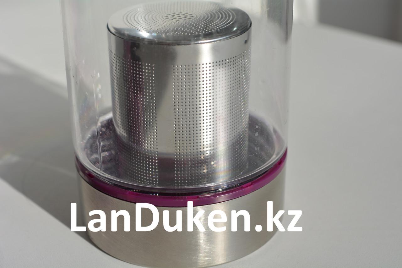 Бутылочка для воды, чая RUNRI 600 мл, емкость для воды (с заварником) - фото 5