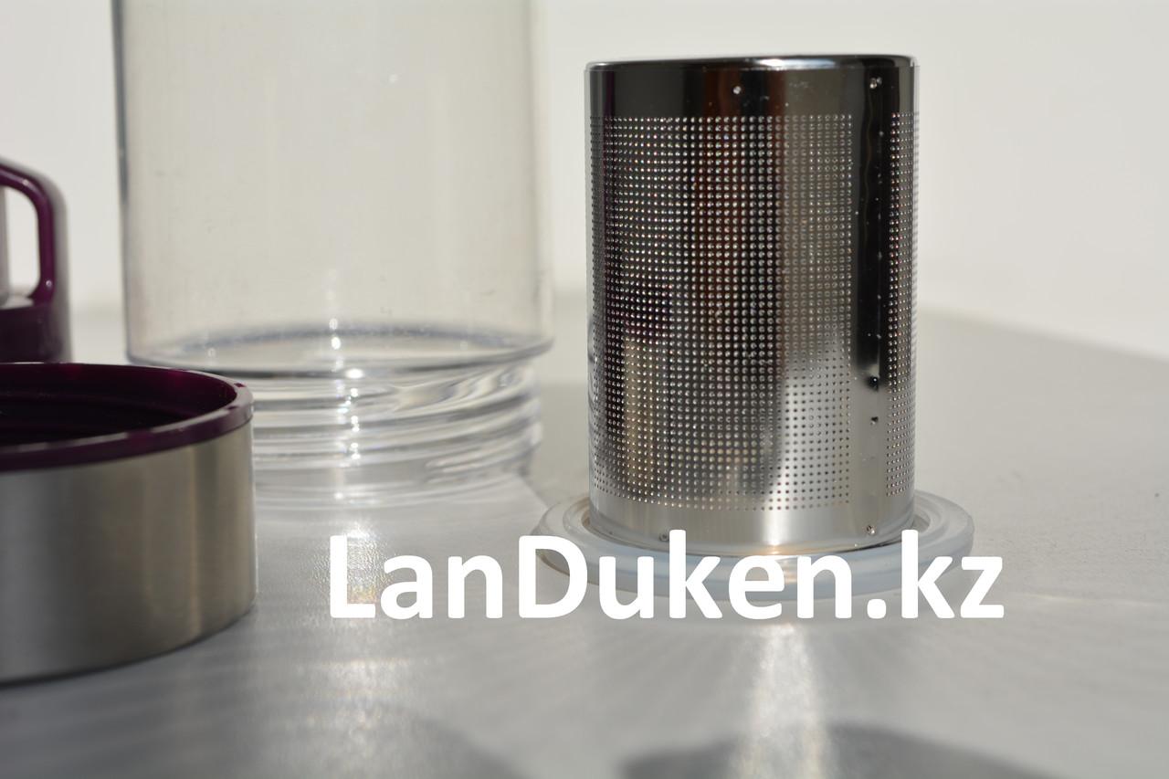 Бутылочка для воды, чая RUNRI 600 мл, емкость для воды (с заварником) - фото 3