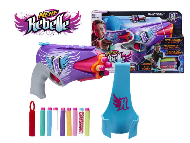 "Hasbro Nerf Rebelle Бластер для девочки ""Сверхновая Звезда"""