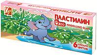 "Пластилин 6цв. Луч ""Zoo"" мини"